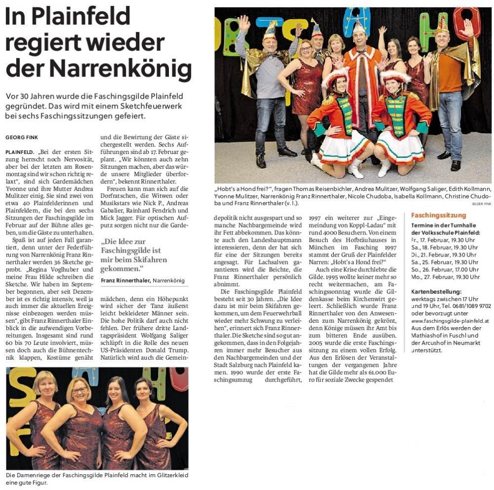 Flachgauer Nachrichten 2017