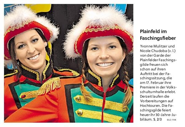 Flachgauer Nachrichten Titelseite 2017