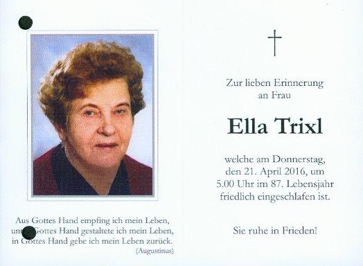 Ella Trixl