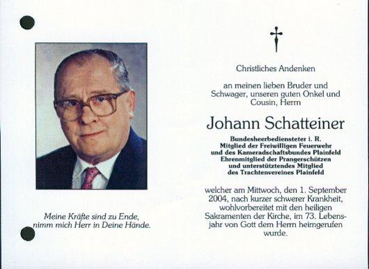 Johann Schatteiner