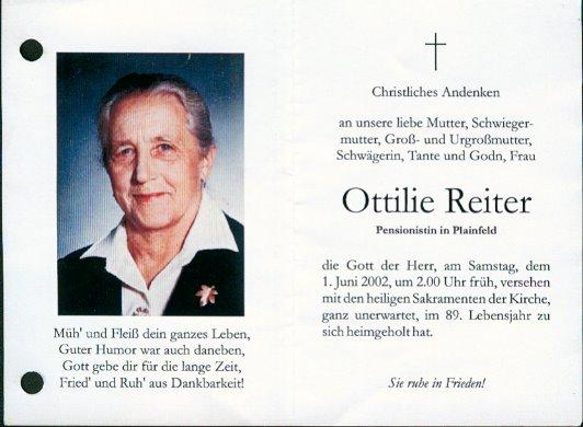 Ottilie Reiter