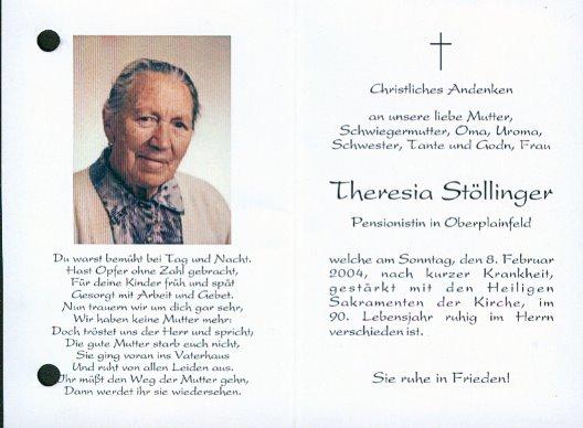 Theresia Stöllinger
