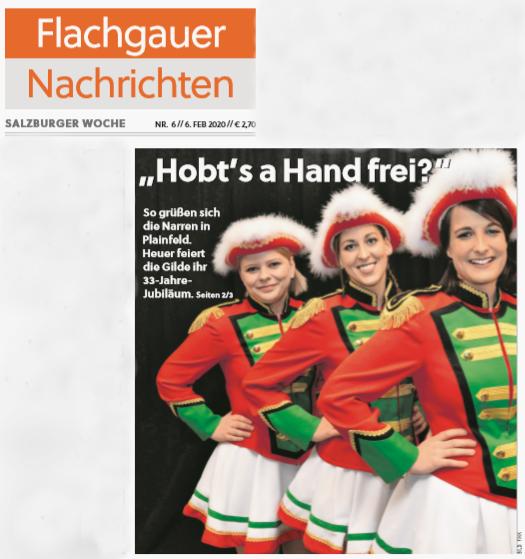 06.02. Flachgauer Nachrichten Titelseite