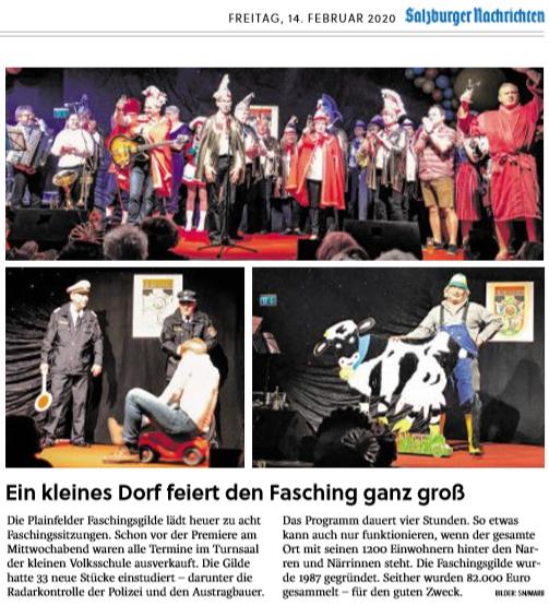 14.02. Salzburger Nachrichten