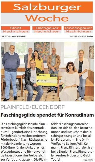 Flachgauer Nachrichten 20.08.2020
